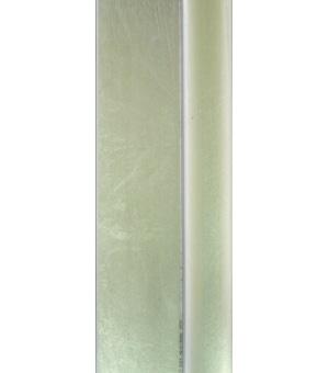 """EV30133 - 1 1/2"""" Silver Leaf Floater"""