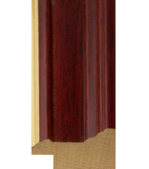 "EV516 - 1"" Mahogany With Gold Lip"