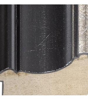 "MA176-213 - 1 7/8"" Black/Silver Distressed"