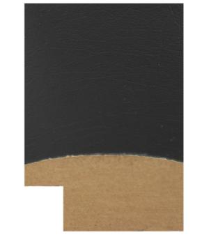 "ND7924 - 1 1/2"" MDF-Black Leather"